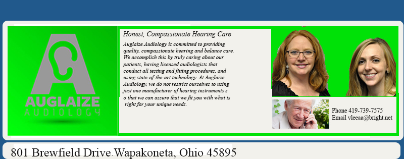 auglaize audiology